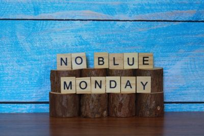 Get through this blue Monday